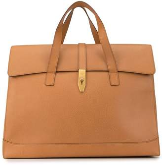 Celine Pre-Owned oversized flap luggage bag