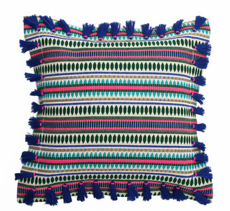 Bivain Bedawi Indigo Cotton Cushion