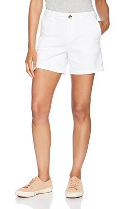 "Amazon Essentials Women's 5"" Inseam Chino Shorts"