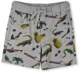Stella McCartney stickers print josh shorts