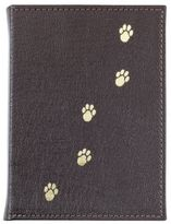 Graphic Image Pebbled Leather Pet Photo Album