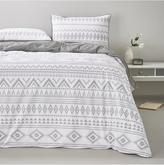 Very Monochrome Aztec Duvet Cover Set