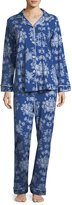 BedHead Mystery Garden Long-Sleeve Classic Pajama Set, Plus Size