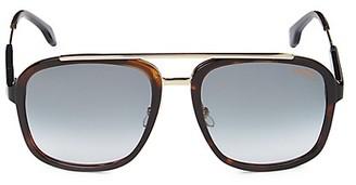 Carrera 57MM Square Sunglasses