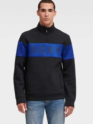 DKNY Scuba Logo Half-zip Pullover