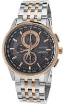 Citizen Men's AT8116-57E World Time Stainless Steel Watch, 43mm