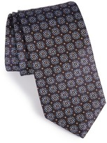Eton Men's Medallion Silk Tie