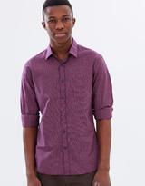 Sportscraft Long Sleeve Tapered Pettigrove Shirt