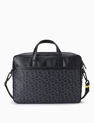 Calvin Klein Monogram Laptop Bag