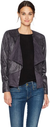 Lysse Women's Mesa Buffed Suede Open Jacket