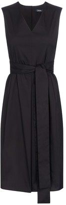 S Max Mara Estremo stretch cotton-blend midi dress