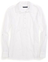 Tommy Hilfiger Final Sale- Textured Solid Popover