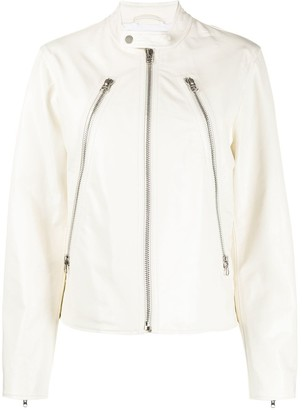 MM6 MAISON MARGIELA Zip Detail Jacket