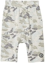 Tiny Whales Good Vibes Army Shorts (Toddler/Little Kids/Big Kids) (Faded Camo) Boy's Shorts