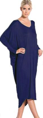 UK Womens Short Sleeve Bodycon Dress Ladies Summer Banquet Party Dress Size 6-18