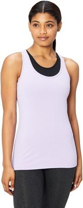 Core 10 Women's Fitted Racerback Yoga Tank Shirt