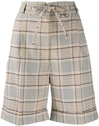 Baum und Pferdgarten Check Knee-Length Shorts