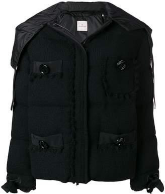 Moncler hooded padded jacket