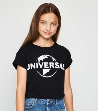 New Look Girls Universal Logo T-Shirt