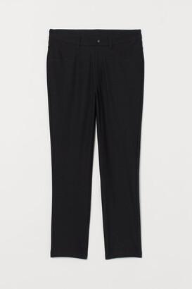 H&M H&M+ Slim-fit Pants - Black