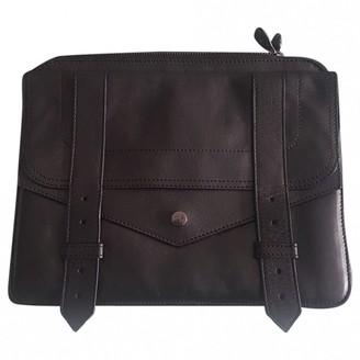 Proenza Schouler Black Leather Clutch bags