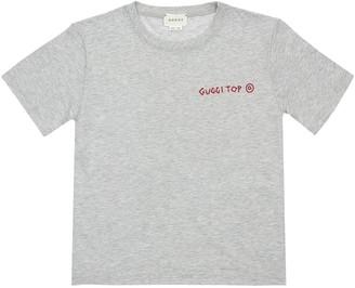 Gucci Punk Printed Cotton Jersey T-shirt
