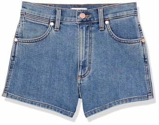 Wrangler Women's Misses High Rise Stretch Denim Shorts