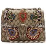 Gucci Dionysus GG Supreme embellished large shoulder bag