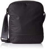Calvin Klein Matthew Reporter, Men's Cross-Body Bag, Negro (), 6.5x24x20 cm (W x H x L)
