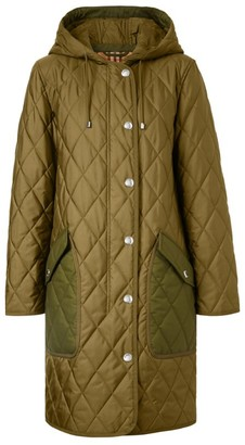 Burberry Quilted Longline Puffer Coat