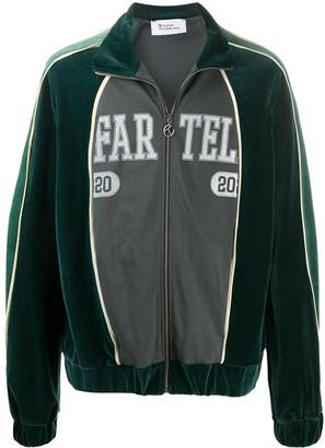 Telfar Logo Zipped Bomber Jacket