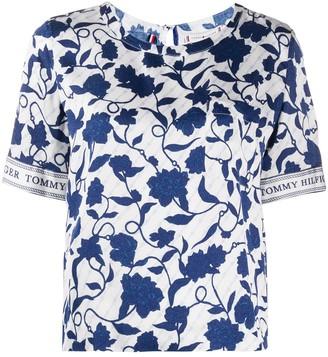 Tommy Hilfiger floral print T-shirt