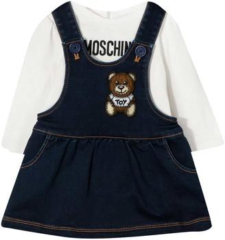 Moschino Teddy Bear Blue Dress