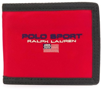 Polo Ralph Lauren Embroidered Logo Wallet
