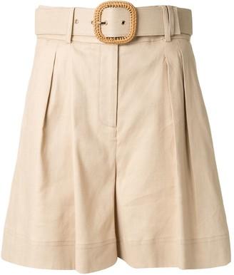 Rebecca Vallance Mojito high-rise belted shorts