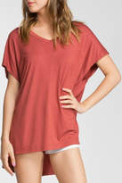 Cherish Red Brown Top