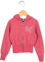 Dolce & Gabbana Girls' Logo Hooded Sweater