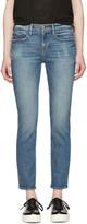 Frame Indigo 'Le Boy' Jeans