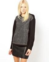 Just Female Embellished Sweatshirt