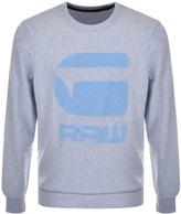 G Star Raw Yster Sweatshirt Blue