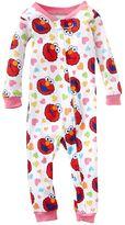 Sesame Street elmo hearts pajamas - baby