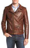 Schott NYC Men's Perfecto Slim Fit Waxy Leather Moto Jacket