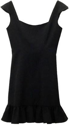 Cap Sleeve Flounce Hem Dress