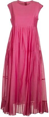 Max Mara Lidia Cotton Voile And Silk Dress
