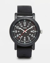Timex Camper Watch In Black T2n364