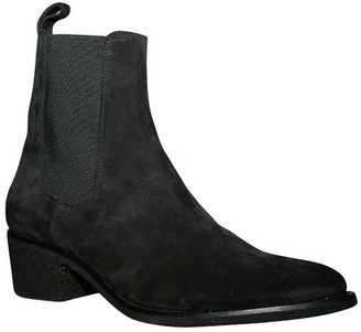 Amiri Pointed Toe Chelsea Boot Black