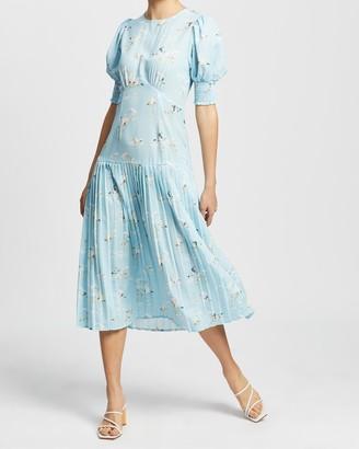 NEVER FULLY DRESSED Mallard Print Dakota Dress