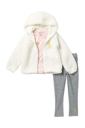 Juicy Couture 3-Piece Fleece Sweater Set (Little Girls)