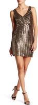 Minuet V-Neck Sequin Dress