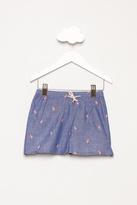 Baby CZ Flamingo Shorts